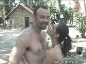 Sexy Latina Outdoor Hook Up
