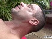 Deep throat blowjob and outdoor anal fucking