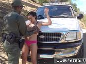 Latina Babe Fucked By the Law