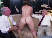 Busty babe Ivy Rose got fucked on a couch