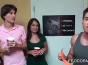 College sex games at dorm room party