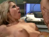 Hot Babe Doctor Nails Resurrected Guy's Hung Dick