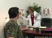 Gorgeous Doctor Blowjob