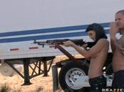 Gun Shooting And Package Shooting