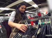 Ravishing czech kitten gets seduced in the hypermarket and plowed in pov