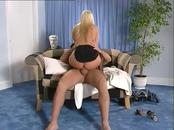Aroused Blonde Whore Blows This