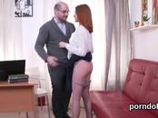 Cuddly schoolgirl is seduced and shagged by her older teacher