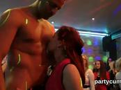 Foxy girls get completely delirious and stripped at hardcore party