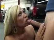 MILF blows for a ride