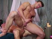 Jake Ashford suck and fuck Darin Silvers hard cock