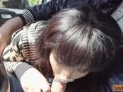 Hot amateur teen Bella Beretta slammed in the backseat