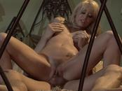 Aroused Bitch Screws Hung Cock