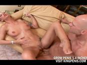 Big Tits Blonde Sucked A Big Cock A