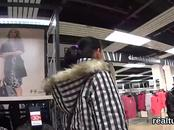 Glamorous czech nympho was teased in the mall and plowed in pov