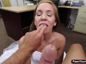 A chick Abby this sexy deserves hardcore sex in the office