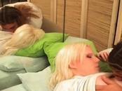 Clueless Blonde Girl Taken Advantaged At Bedroom