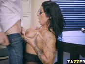 Danny Ds cock got Simone Garzas pussy on top