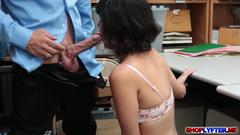 Something penelope pussy bangs in thief her college reed speaking, you