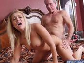 Kenzie Green gets a hot fuck with the oldies