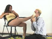 Chicks drill men butthole with massive strapon dildos and squirt spunk
