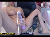 Silicone Milf Loves Her Toys