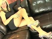 Sexy French Pornstar Gets Her Feet Fucked