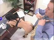 Skinny Young Girl Nailed By Teacher