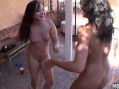 Crazy Girls Participate On Screwing Pool Gathering
