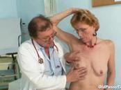 Elder Woman Experiences Perverted Vagina Checkup